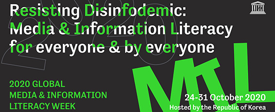 Puffbild för Resisting disinfodemic ´: Media & Information Literacy for everyone & by everyone